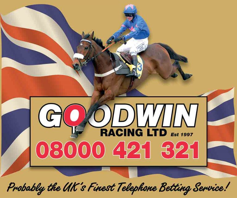 Goodwin Racing Telephone Betting Banner