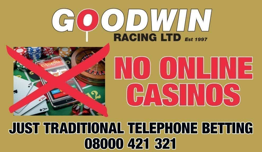goodwin racing telephone betting no online