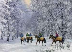 Horse Racing Christmas